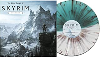 The Elder Scrolls V: Skyrim - Atmospheres (Exclusive Limited Edition Jerall Mountains White & Blue Splatter Vinyl LP) [Condition-VG+NM]