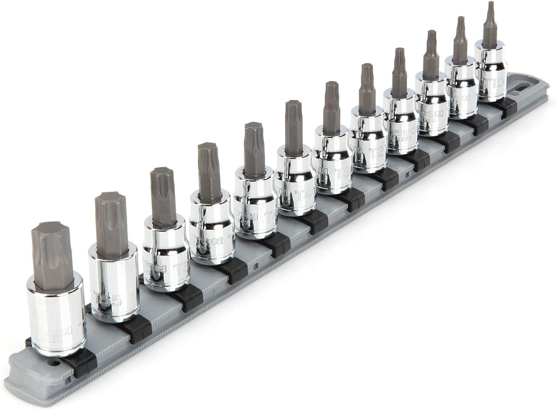 TEKTON 3 8 Award Inch Drive Torx Socket Set Product 12-Piece Bit T10-T60