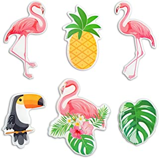 Morcart Flamingo Refrigerator Magnets Funny Tropical Bird Magnets for Fridge Office Whiteboard Lockers Adults Kids Best Gift Choice 6PCS