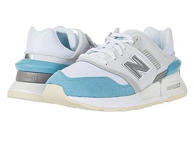 New Balance Classics 997 Sport (Munsell White/Wax Blue) Women