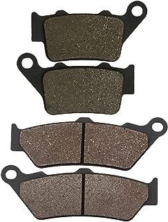 Cyleto Plaquettes de frein avant et arri/ère pour Suzuki DR350/DR 350//Dr350se 1990/1991/1992/1993/1994/1995/1996/1997