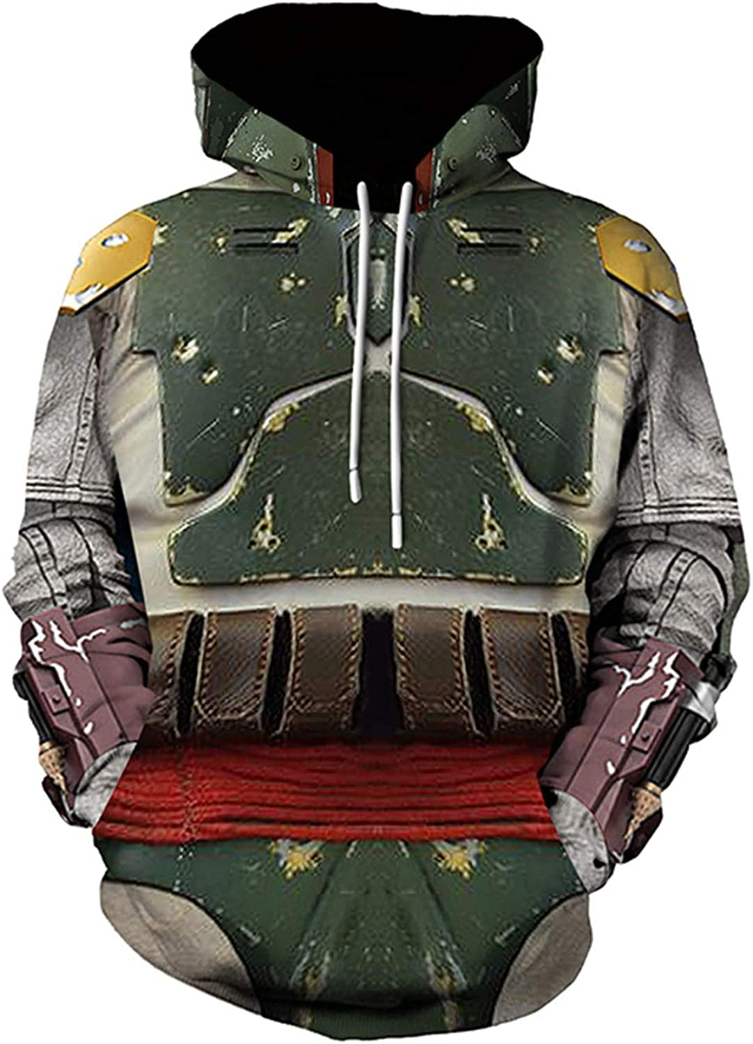Adult Mens Long-awaited Toddler Kids Hoodie Star Pullover NEW before selling ☆ Cosplay Print Sw 3D