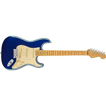 Fender American Ultra Stratocaster MN Cobra Blue w/Hardshell Case