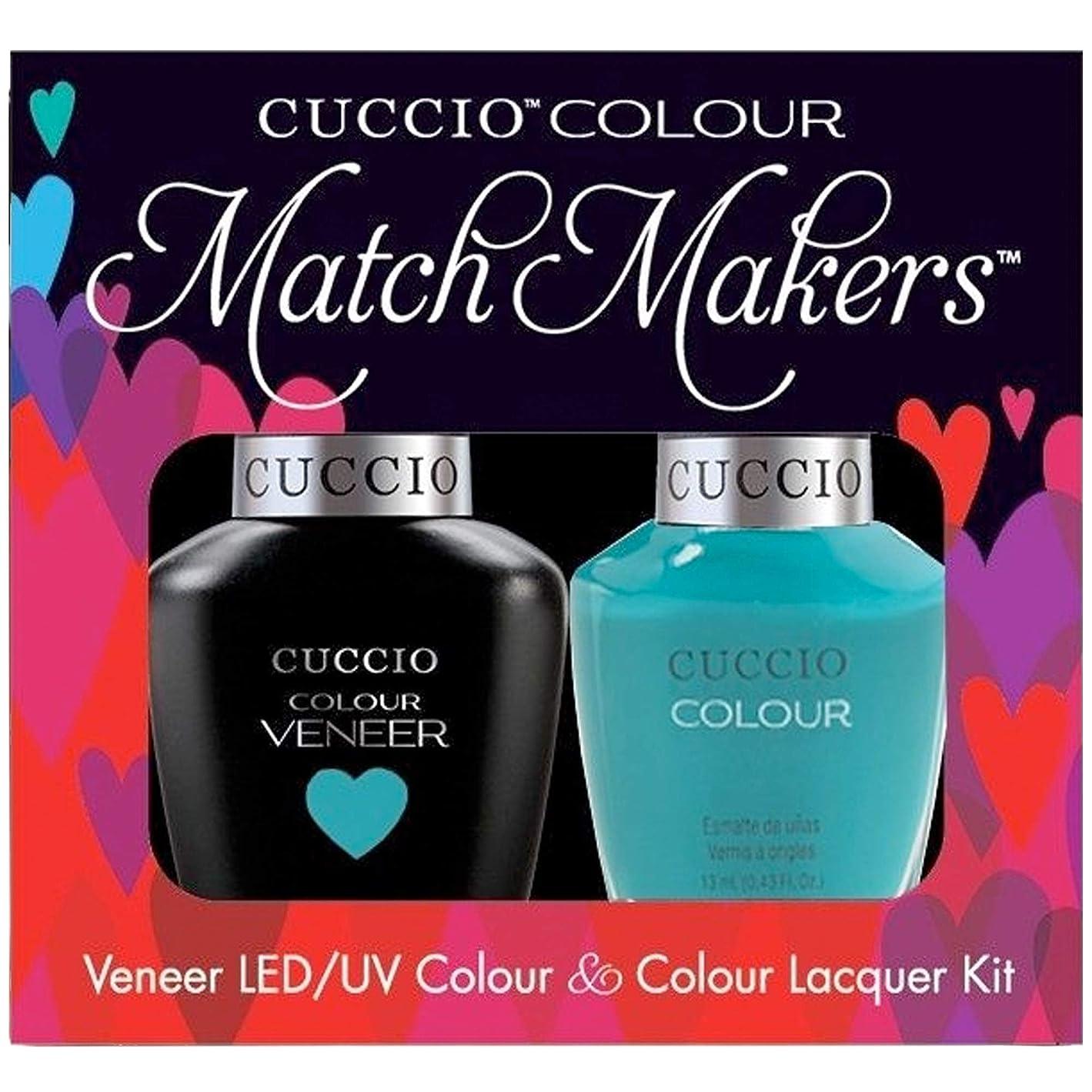 現れる迫害長老Cuccio MatchMakers Veneer & Lacquer - Muscle Beach - 0.43oz / 13ml Each