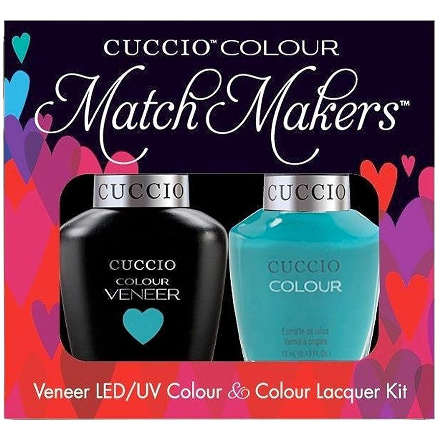 カラス祖先お願いしますCuccio MatchMakers Veneer & Lacquer - Muscle Beach - 0.43oz / 13ml Each