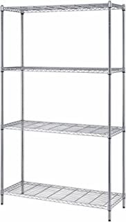 Quantum Storage Systems, RWR72-1842LD, Box Wire 4-Shelf Unit, 18 X 42 X 72 in.
