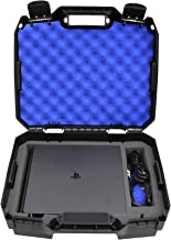 Casematix Bag Case Fits Playstation 4 Slim 1tb Console and Accessories PS4 Slim Console , Controller , Wireless Move Motion , Games , Cables Only , Will Not Fit Other Models