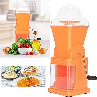 Vegetable Crusher, Vegetable Mincer, Non‑Slip Foot Pads Multi‑Functional Vegetable Chopper, Vegetable Salads for Kitchen M...