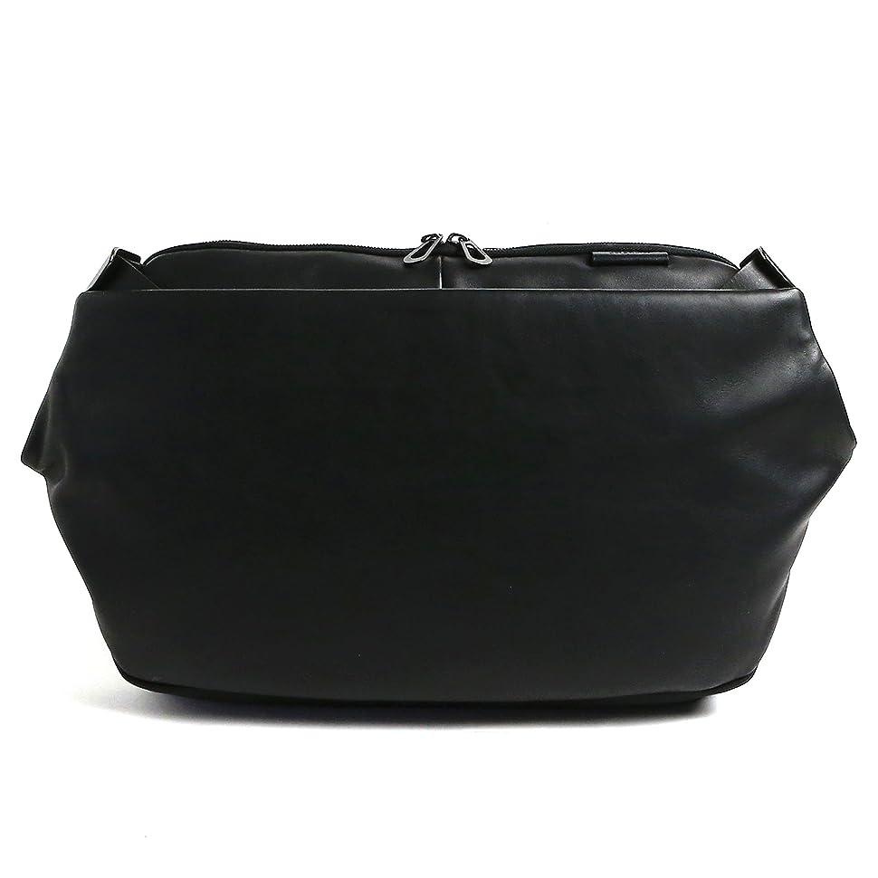 メンダシティ木材毎日[コートエシエル]Cote&Ciel 13インチ メンズ RISS Alias Cowhide Leather レザー メッセンジャー ボディバッグ Black ブラック 黒 28463 [並行輸入品]