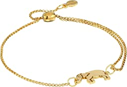 Elephant Pull Chain Bracelet - Precious Metal