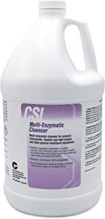 Multi Enzymatic Liquid Medical Instrument Cleaner Concentrate for Veterinary and Surgical Equipment Presoak and Reprocessing, For Use with Ultrasonic Units and Manual Cleaning, 1 Gal