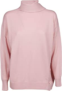 Pinko Luxury Fashion Womens 1G147DY4P2O99 Pink Sweater | Fall Winter 19