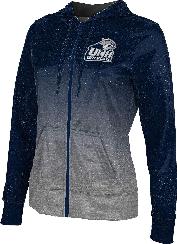 ProSphere University of New Hampshire Girls' Zipper Hoodie, School Spirit Sweatshirt (Ombre)