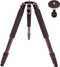 JIEXINRUI Carbon Fiber Tripod (HZ-80C) Professional Bird Watching Heavy-Duty Camera 20 kg Maximum Load-Bearing Bowl Tripod Bird Watching Camera Bracket with 65mm Bowl Adapter
