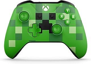 Microsoft - Mando Inalámbrico: Edición Limitada Minecraft Creeper (Xbox One), verde
