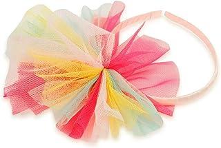 Billieblush Kinder Haarreif Haarschmuck Mesh Schleife Streifen mehrfarbig neon