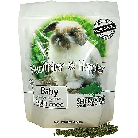 Baby Rabbit Food, 4.5 lb. - (Soy, Corn & Wheat-Free) - (Vets Use)
