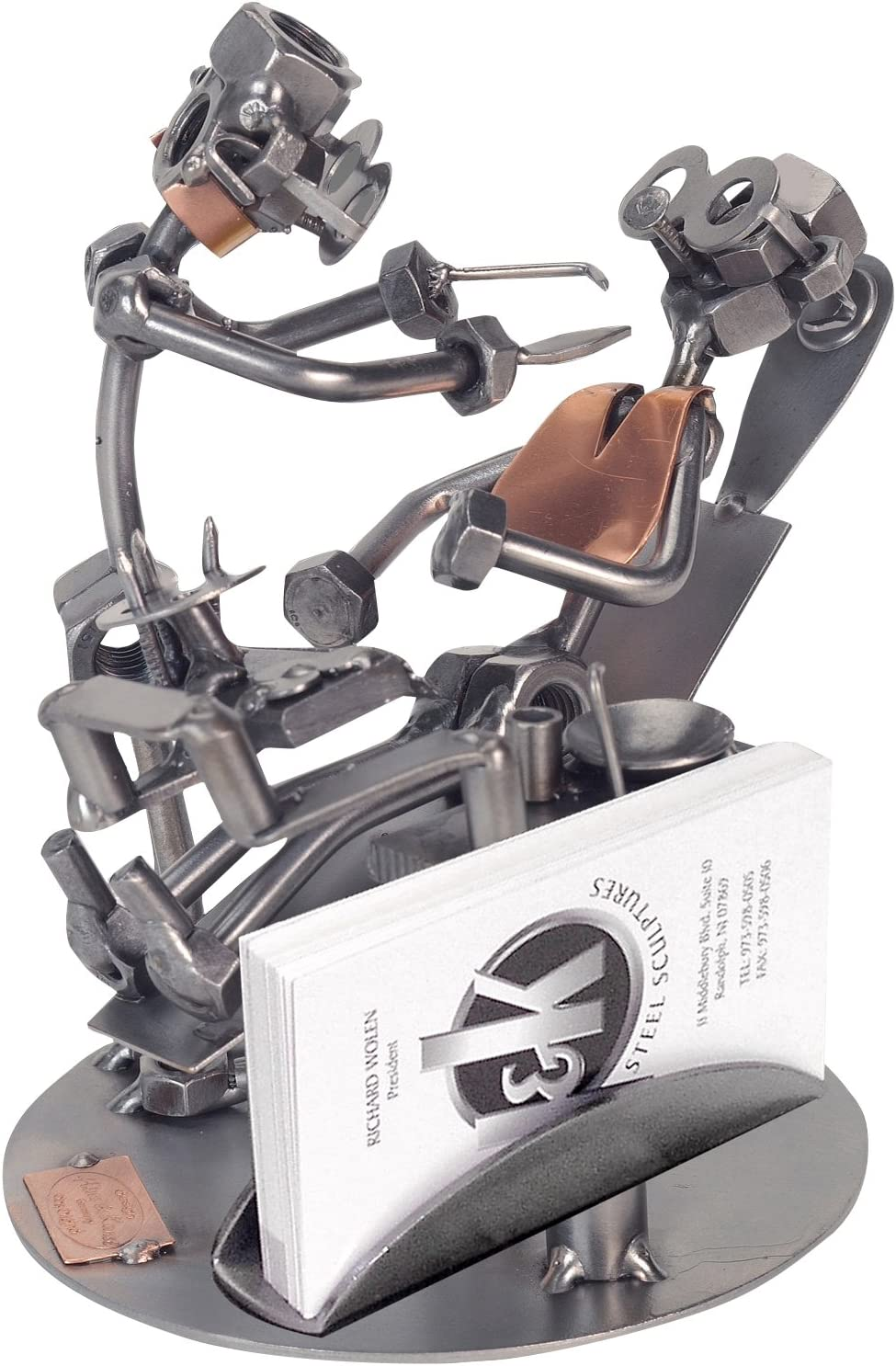 H K SCULPTURES 240BCPR Dentist Business Nuts Card and Holder Ranking TOP2 Popular products B