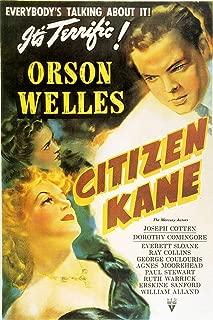 American Gift Services - Citizen Kane Orson Welles Vintage Movie Poster - 18x24