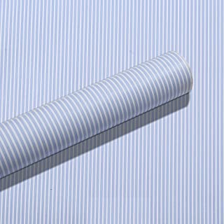 Yifely Blue White Stripes Shelf Liner Drawer Units Decor Sticker Self-Adhesive Contact Paper 17.7 Inch by 9.8 Feet