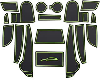 LFOTPP Kompatibel mit Gummimatten Antirutschmatten Kona 17 Stücke (Grün)