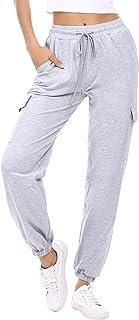 Amazon Es Pantalones Anchos Grises Mujer