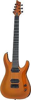 Schecter 248 7-String Solid-Body Electric Guitar, Lambo Orange