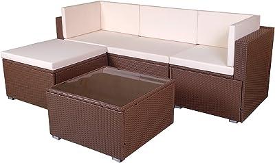 Amazon.com : Vondom Vela Sofa Central chaiselongue Bronze ...