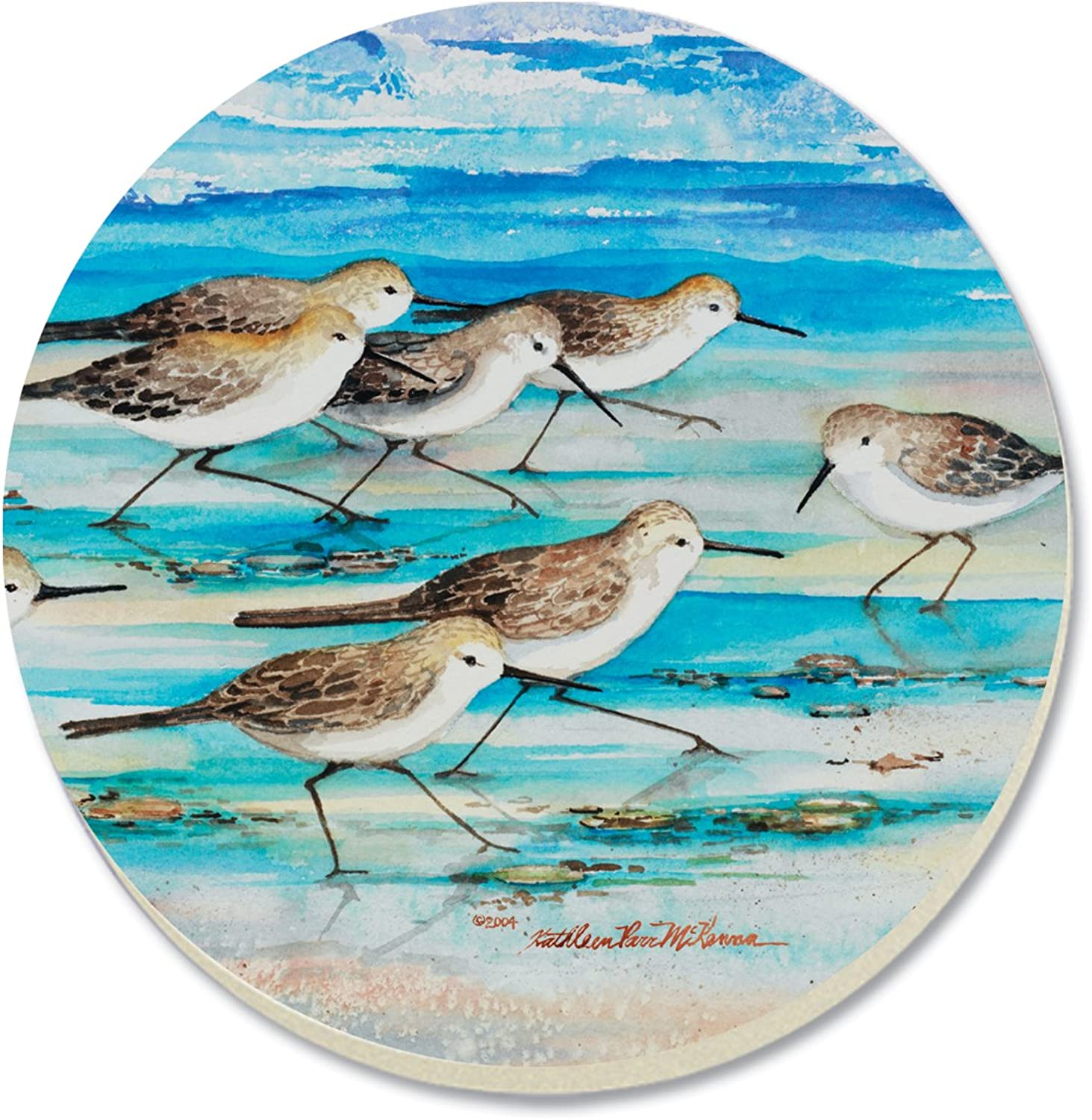 Nuevos productos de artículos novedosos. CounterArt Decorative Absorbent Coasters, Shore Birds, Set of 4 by by by CounterArt  despacho de tienda