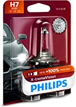 Philips 12972XVB1 H7 X-tremeVision Upgrade Headlight Bulb with up to 100% More Vision, 1 Pack