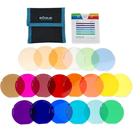 Rogue Gels Lighting Filter Kit Für Rogue Grid Kamera