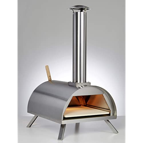 Wood Pellet Pizza Oven wppokit WPPO1 Portable Stainless Steal