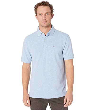 Tommy Hilfiger Ivy Polo Shirt Classic Fit (Malaga Blue Heather) Men
