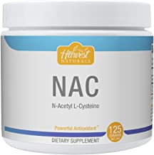N-Acetyl L-Cysteine (NAC) Powder - Powerful Antioxidant Precursor - 125 Grams- Harvest Naturals