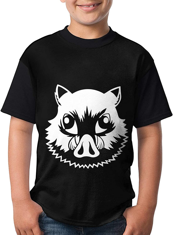 Anime Teenager Tops Demon Slayer T Shirts Short Sleeve Tee Shirts Fashion T-Shirt for Boys Girls