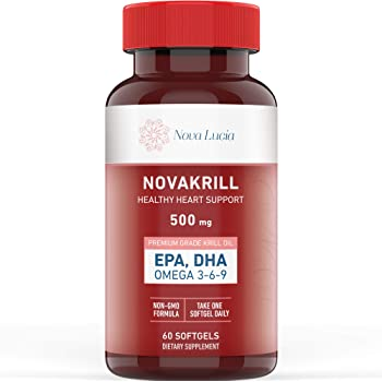 Amazon Com 1md Krillmd Antarctic Krill Oil Omega 3 Supplement With Astaxanthin Epa Dha 2x More Effective Than Fish Oil 60 Lemon Coated Softgels Health Personal Care