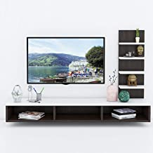 Aart Store Engineered Wood TV Entertainment Wall Unit/Set Top Box Stand