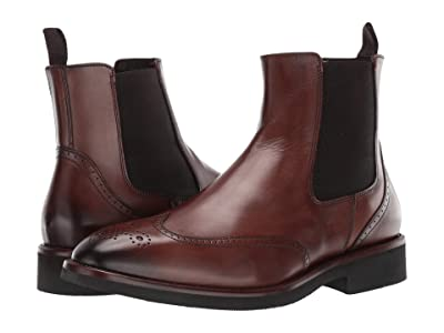 J&M Collection Ridgeland Chelsea (Dark Brown) Men