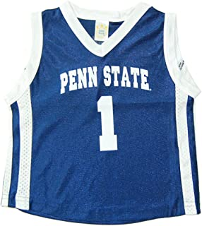 Penn State Nittany Lions Infant Toddler #1 Basketball Jersey