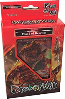 Force of Will - Fire Blood of Dragons Starter Deck - New