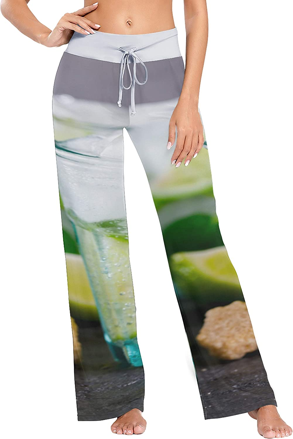 Womens Max 53% Max 67% OFF OFF Pajamas Bottoms Colorful and Wine Beautiful Women Glasses