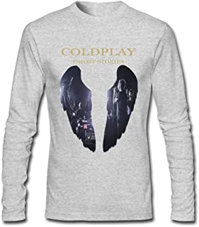 TBTJ Coldplay Rock Band Long Sleeve Tees for Men