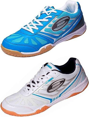 Chaussure Donic Waldner Flex III, options d' 33, blanc   bleu