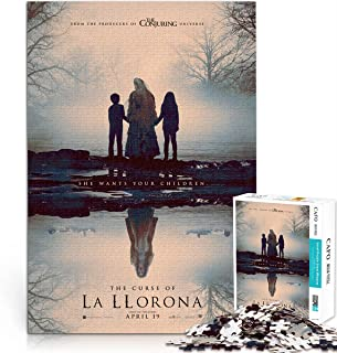 Adult puzzle 1000 pieces The Curse of La Llorona 1000 piece video puzzle Poster assembly The best choice for poster collec...