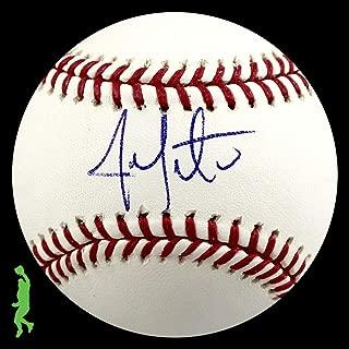 Signed Jon Lester Ball - Rawlings Rawlings Beckett Bas Coa - Beckett Authentication - Autographed Baseballs