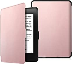 Fintie Slimshell Case for Kindle Paperwhite - Fits All Paperwhite Generations Prior to 2018 (Not Fit All-New Paperwhite 10th Gen), Rose Gold