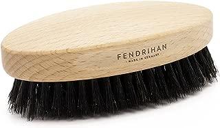 Fendrihan Genuine Boar Bristle and Beech Wood Military Hair Brush, MEDIUM-SOFT BRISTLE, Made in Germany