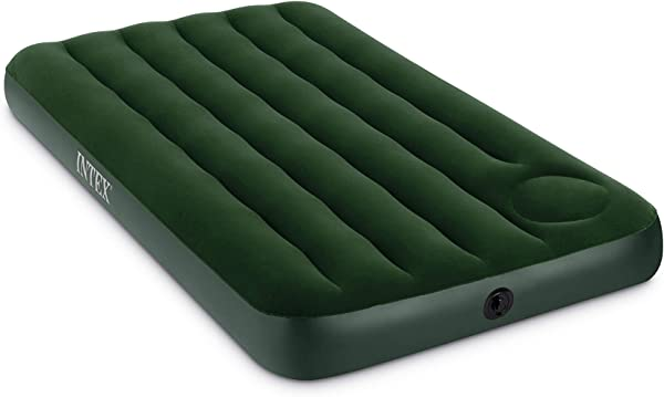 Intex Downy Airbed With Built In Foot Pump Twin