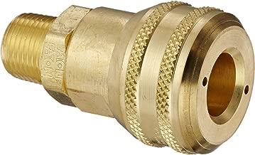 Eaton Hansen 4300 Brass 3000/4000/5000/6000 Series Industrial Interchange, Coupler Socket, 3/8