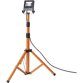 LEDVANCE WORKLIGHT Tripod | Projecteur LED Extérieur de Chantier | Gris foncé | 20 Watts 1700 Lumens | Blanc Froid 4000K | Etanche IP65